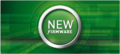 New firmware